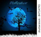 Halloween Background Template...