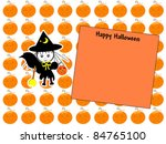 little witch   text space | Shutterstock . vector #84765100