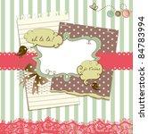 cute scrapbook elements   Shutterstock .eps vector #84783994