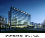 buildings made in 3d | Shutterstock . vector #84787603