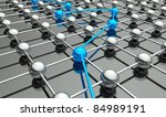 abstract conception of network... | Shutterstock . vector #84989191