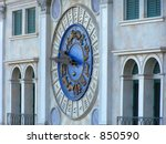clock on the venetian hotel