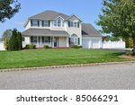 Suburban Two Story Double...