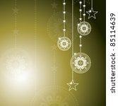 christmas background.... | Shutterstock . vector #85114639