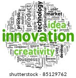 innovation and creativity... | Shutterstock . vector #85129762