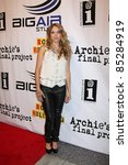 "Small photo of LOS ANGELES - SEPT 22: Brooke Nevin arriving at the premiere of ""Archie's Final Project"" at The Laemmle Monica 4-Plex on September 22, 2011 in Santa Monica, CA"
