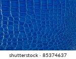 Luxury Blue Crocodile Texture