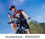 sports activity  young adult... | Shutterstock . vector #85656520