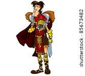 praetorian guard   Shutterstock .eps vector #85673482