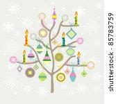 christmas card | Shutterstock .eps vector #85783759
