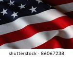 us flag | Shutterstock . vector #86067238