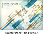 interior background | Shutterstock .eps vector #86140537