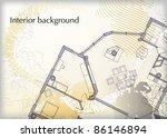 interior background | Shutterstock .eps vector #86146894