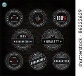 grunge retro vintage styled... | Shutterstock .eps vector #86222629