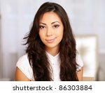 closeup portrait of a young... | Shutterstock . vector #86303884