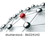 networking and internet concept | Shutterstock . vector #86324143
