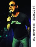 Постер, плакат: Vocalist Kevin Martin of