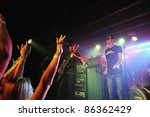 Постер, плакат: Rock Band Candlebox performs