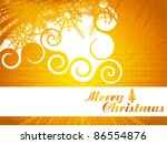 abstract christmas background | Shutterstock .eps vector #86554876