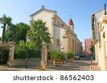church of  palavas les flots ... | Shutterstock . vector #86562403