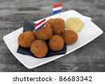 Bitterballen - stock photo