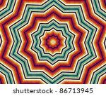 Kaleidoscopic Pattern Of ...