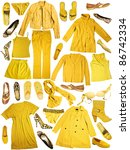yellow clothes | Shutterstock . vector #86742334