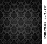 seamless damask pattern   Shutterstock .eps vector #86753149