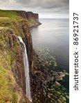 Kilt Rock Waterfall  Isle Of...