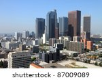 los angeles financial district | Shutterstock . vector #87009089