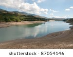 View Of The Lake Giacopiane In...