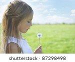 happy on meadow | Shutterstock . vector #87298498