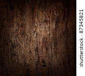 Dark Wooden Background With...