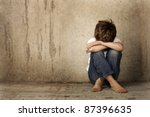alone | Shutterstock . vector #87396635