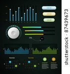 infographics elements and eq   Shutterstock .eps vector #87439673
