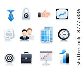 banking icons | Shutterstock .eps vector #87775336