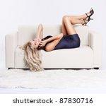 full length portrait of... | Shutterstock . vector #87830716