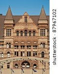 Stock photo the gothic style building of the old city hall in toronto ontario canada 87967102