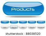 web buttons illustration   Shutterstock .eps vector #88038520