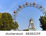 famous and historic ferris... | Shutterstock . vector #88383259