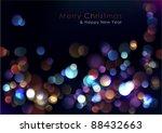 christmas blurred lights...