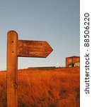 signpost for the pennine way | Shutterstock . vector #88506220