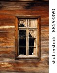 Wooden Old House Window