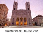 the basilica of notre dame in... | Shutterstock . vector #88651792