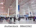 beijing   nov. 10. departure...   Shutterstock . vector #88661062