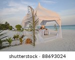 Wedding Tent In The Maldives A...