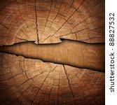 cracked wood background | Shutterstock . vector #88827532