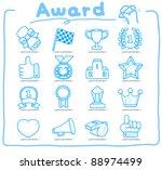 pure series   hand drawn award...   Shutterstock .eps vector #88974499