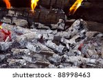 Coal And Wood Ash From Burning...