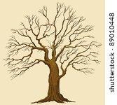 big tree vector illustration | Shutterstock .eps vector #89010448